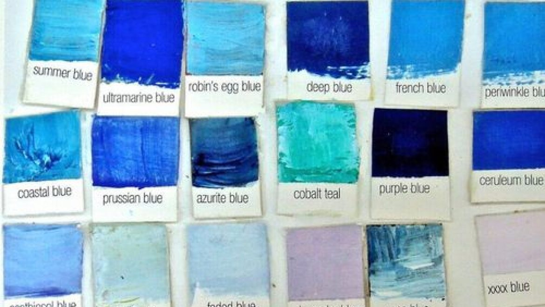 חמישים גוונים של כחול